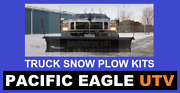 84 Pro Shovel Snow Plow Kit With An Actuator Lift System For Trucks / Suvs