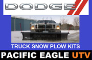 Dodge Truck 82 Winter Wolf Snow Plow Kit With An Actuator Lift System