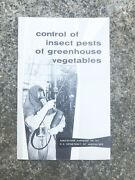 Vtg Control Of Insect Pests Of Greenhouse Vegetables Us Dept Of Agriculture- A17
