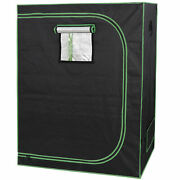 Hydroponic Grow Tent With Observation Window And Floor Tray Plant Growing 2and039x4and039
