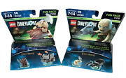 Lego Dimensions Lord Of The Rings 2-set Fun Pack. Gimli And Axe Chariot And Gollum.