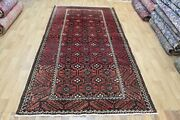 Old Handmade Persian Tribal Rug 285 X 145 Cm Hand Knotted Wool Rug