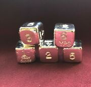 1 Oz Hand Poured 999 Silver Bullion Bar Dice By Yps - Yeagerand039s Poured Silver