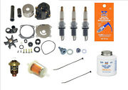 And03904 And03905 300 Hour Service Kit Spark Pump T-stat Evinrude E-tec 75 90 5001595