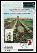 Israel 2008 Intand039l Holocaust Remembrance Day Ovpand039t English Leaf 1/30 Israel Stamp