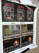 2001 A Space Odyssey Two Printer's Imperforate Uncut Stamp Sheets No. 002/300