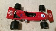 Politoys March Ford 721f1 6 Stp Oil Treatment Fx2 1/25 Driver Ronnie Peterson