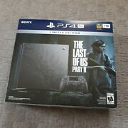 Authentic The Last Of Us Part 2 Ii Limited Edition Ps4 Pro 1tb Console Bundle