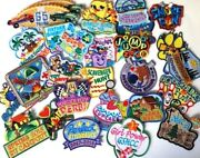 Scout Patch Lot Of 29 Patches Set Cute Camp Safety Boy Girl Cookie Adventure Fun