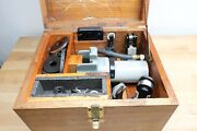 moore Slot Jig Grinder W/ Wooden Case And Accessories