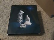 Avon 1981 Nativity Collectibles Holy Family Three Porcelain Figurines
