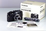Voigtlander Bessa R2s Black Nhs Limited Edition Set S Heliar New Boxed Old Stock