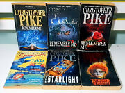 Lot Of 6x Christopher Pike Young Adult Horror Fiction Books Remember Me 1 2 3
