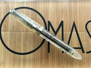 Omas 360 Vision Clear Demonstrator Rollerball Pen New In Box