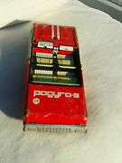 Vintage Car Toy Raduga Friction Drive 1980's Moscow Soviet Era Russia Ussr Cccp