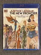 Justice League The New Frontier Blu Ray, 2017 Commemorative Edition