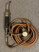 Turbo Torch Air Acetylene Welding Torch W/ Regulator And A-5 Tip