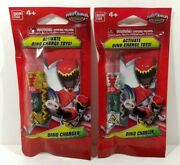 Power Rangers Dino Charge 2 Chargers Gold Mmpr Dino Megazord And Silver Falconzord