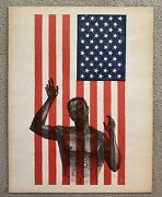 Billy Morrow Jackson Stars And Bars American Prison Flag Political Poster