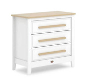 Boori Linear 3 Drawer Chest Barley White And Almond
