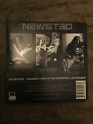 Metal Debut Ep By Newsted Cd - Signed Autographed By The Band Jason Metallica