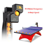 Jt-a Table Tennis Table Ball Machine 50w Ping Pong Serve Practice Train + 9 Spin