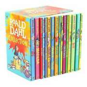 Roald Dahl Collection 16 Book Box Set New Fast Free Shipping