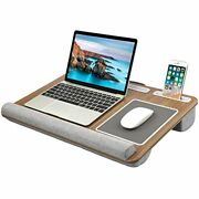 Huanuo Lap Desk - Fits Up To 17 Inches Laptop Desk, Built Mouse Pad Andamp Wrist