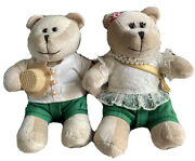 Starbucks Thailand New Year Bear Bearista Boy And Girl Traditional Outfit -no Card