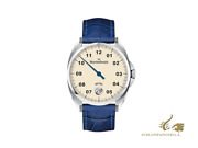 Meistersinger Metris Ivory Automatic Watch 38mm Leather Strap Me903-sg04
