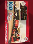 Railroad Engine And Train 22 Piece 10 Feet If Track