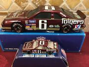 Mark Martin 6 Ford Folgers Coffee 1991 1/24 Bank And 1/64 Car Diecast Set Rare