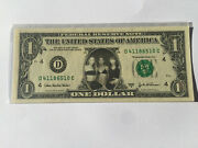 Real Us Dollar Bill Rare Mint Celebrity Note Destinys Child Beyonce Kelly Rowl