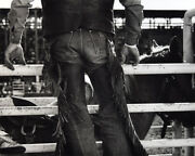 Louise Serpa 1925-2012 - The Butt Of Lewis Field, Yuma, Prca Rodeo 1984 Photo