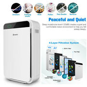 Hepa Filter Air Purifier Room Fresh Air Cleaner 100 Ozone Free, Carb Certified