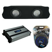 94-04 Ford Mustang Coupe Harmony A102 Dual 10 Custom Sub Box And Ha-a800.1 Amp