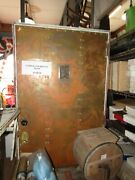 Architectural Salvage Brass And Copper Door W/ Sash 74and039and039 X 36and039and039