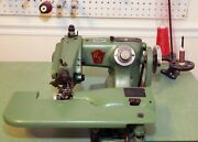 Union Special Blind Hemmer Sewing Machine - Model 718-c-6 With Table