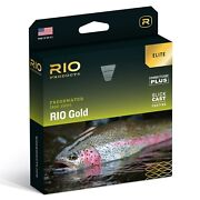 Rio Gold Elite Fly Line Moss/gold/gray - All Sizes - Free Fast Shipping
