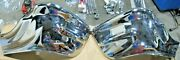1957 Chevy 150 210 Bel Air Nomad Chrome Front Bumper Ends Pair Brand New Oem
