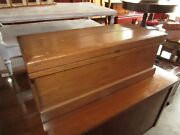 Antique Late 1800and039s Wood Tool Box