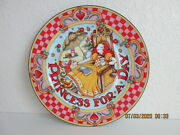 Mary Engelbreit Princess For A Day Plate Rare Find