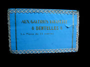 Antique French Lace Trim -orig Unopened Packet 11 Metres, Aux Galleries Lafayet