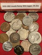 Sale Nice Us Coin Collection Bullion Vintage Lot Gold Gp 90 Silver 75+ Coins