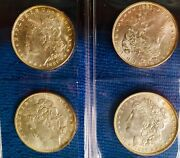 1 Choice Bu Stackandrsquos Silver 1 1887 From Morgan Dollar Roll Andlsquo94 Auction Toned Unc
