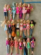Lifetime Collection Barbie Lot Used-dolls, Clothes, Accessories, Furniture, Etc.