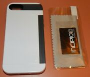 Incipio Stowaway Credit Card/kickstand Case Apple Iphone 5/5s, White And Gray
