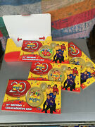4 X 2011 1 Coins The Wiggles 20th Birthday Four Coin Set One Dollar Guitar Rare