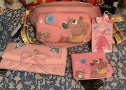 Loungefly Disney Cinderella Fanny Pack Sold Out Wallet Coin Purse And Id Lanyard