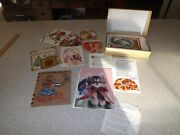 Vintage Greeting Card Lot Cards, Fronts Devotions Scrapbook + Loose Whoa